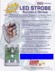 Informational Flyer for LED Strobe Features & Options