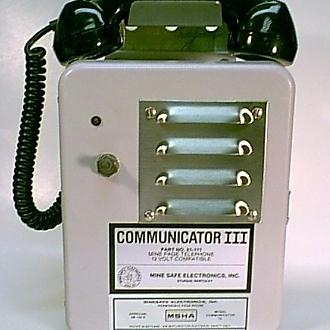 Image of MineSafe Communicator III