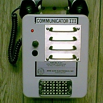 Communicator III w/ High Visibility LED Strobe