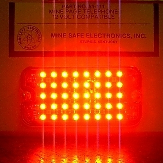 High Intensity LED's in a Polycarbonate Lens