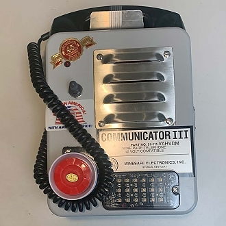 Comminicator III w/ High Visibility LED Strobe and 120 dB Audible Alarm