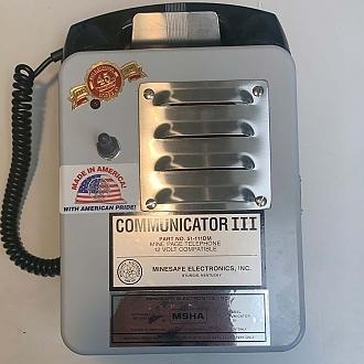 Communicator III w/ High Visibility LED Strobe